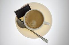 Coffe en chocolade Stock Afbeeldingen