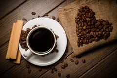 Coffe fasola Zdjęcia Stock