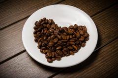 Coffe fasola Obrazy Royalty Free