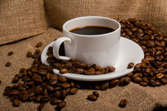 Coffe fasola Zdjęcie Royalty Free
