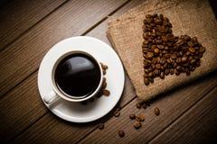 Coffe fasola Obraz Royalty Free
