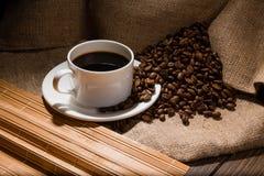 Coffe fasola Fotografia Royalty Free