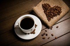 Coffe fasola Fotografia Stock