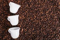 Coffe fasola piec, ładna tekstura Zdjęcie Royalty Free