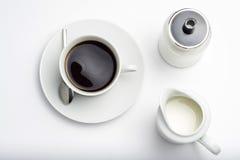 coffe filiżanki kawa espresso Zdjęcia Royalty Free