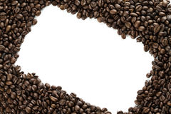 Coffe frame Royalty Free Stock Photography