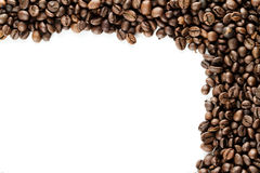 Coffe Frame Stock Photography
