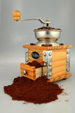 Coffe grinder Stock Photos