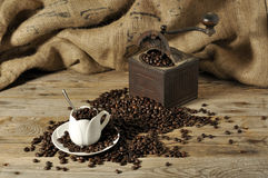 Coffe gringer Stock Photography