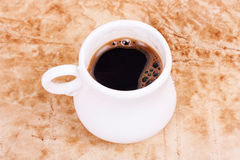Coffe on grunge Stock Image