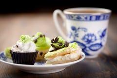 Coffe Kuchen Lizenzfreie Stockfotos