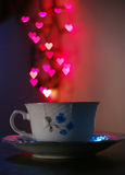 Coffe Liebe Stockfotografie