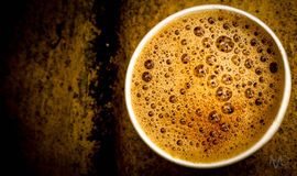 Coffe. A lot can happen over a cup of coffee Stock Photos