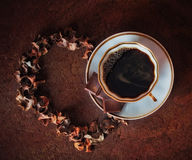 Coffe with love Royalty Free Stock Photo