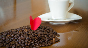 Coffe love Royalty Free Stock Photography