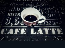 coffe mój obraz stock