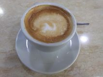 Coffe Majorcan Stock Image