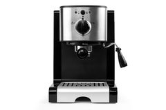 Coffe maker. Isolated coffe maker on a white background Royalty Free Stock Image