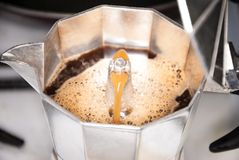 A coffe maker Royalty Free Stock Photo