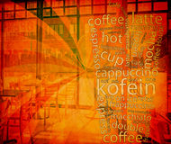 Coffe Menu Royalty Free Stock Photography