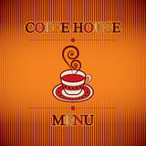 Coffee menu. Vintage style design coffe menu Stock Photo