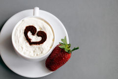 Coffe mit Liebe Lizenzfreies Stockbild