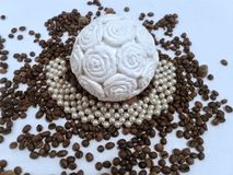 Coffe moda Zdjęcia Royalty Free