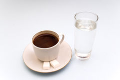 Coffe in the morning stock image