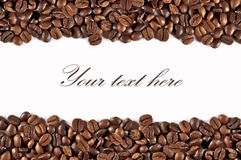 Coffe motive on white background royalty free stock image