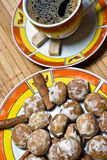 coffe muffins στοκ εικόνες με δικαίωμα ελεύθερης χρήσης