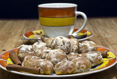 coffe muffins Στοκ φωτογραφία με δικαίωμα ελεύθερης χρήσης
