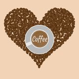 Cup of Coffee Illustration Stock Photos