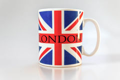 Coffe Mug. Coffee or Tea Mug with British flag and London Stock Images