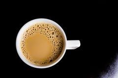 Coffe negro foto de archivo libre de regalías