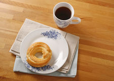 Coffe and pastry Stock Photography