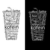 Coffe Poster Stock Image