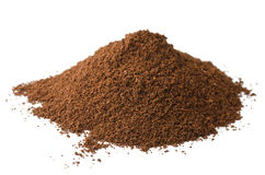 Coffe powder Royalty Free Stock Photo