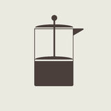 Coffe press vector Stock Photography