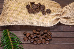 Coffe sack Royalty Free Stock Photography