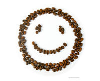 Coffe smile Stock Photography