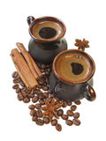 Coffe and spices Royalty Free Stock Images