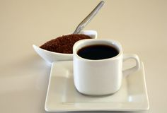 Coffe and sugar Royalty Free Stock Photos