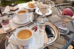 Coffe time Royalty Free Stock Photography