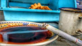 Coffe tradizionale vecchio Fotografia Stock