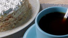 Coffe und Kuchen stock video