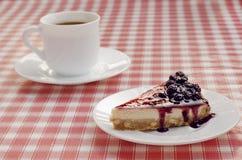 Coffe und Nachtisch lizenzfreies stockfoto