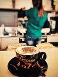 Coffe Zeit Stockbild