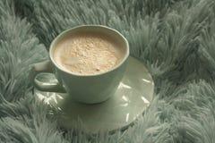 Coffe-Zeit zur besten Zeit überhaupt stockbilder