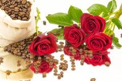 Coffebeans rosspegel 2 Royaltyfri Foto