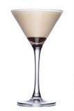 Coffeccocktail met likeur stock afbeeldingen
